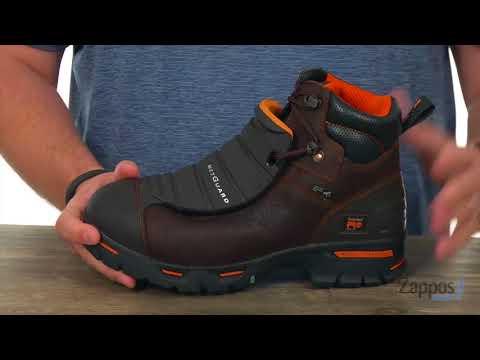 """Timberland PRO 40000 6/"""" Met Guard Steel Toe Heat Resistant Non Slip EH Boots"""