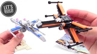 Sent 1st Class! Set 30278 Sealed Lego Star Wars Poe/'s X-Wing Fighter Polybag