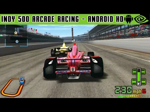 INDY 500 Arcade Racing - Gameplay Nvidia Shield Tablet Android 1080p (Android Games HD)
