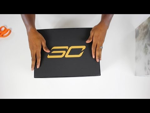 unboxing:-gift-from-under-armour-for-steph-curry