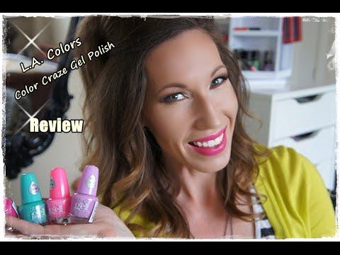 LA Color Gel Nail Polish Review