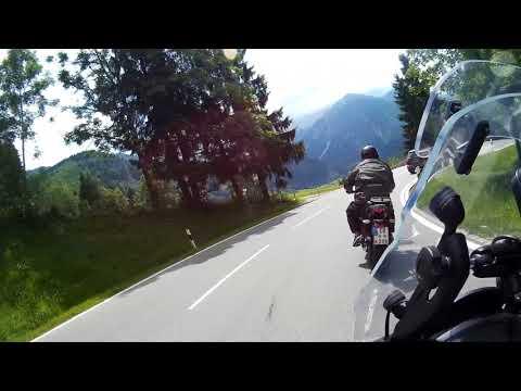 Von Oberjoch nach Bad Hindelang Oberjoch Pass B308 Bayern 2016