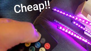 Cheap Amazon Interior LED Light Bars!