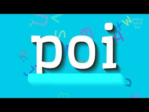 "How to say ""poi""! (High Quality Voices)"
