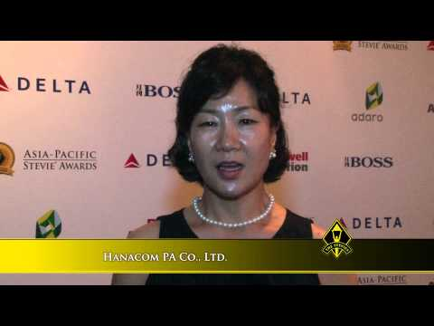 Hanacom PA Co , Ltd wins at the 2014 Asia-Pacific Stevie Awards