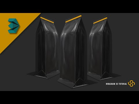 Modeling A Coffee Bag In 3ds Max | Packaging Tutorial
