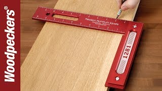 Woodpeckers Precision 12 Inch Woodworking Square.