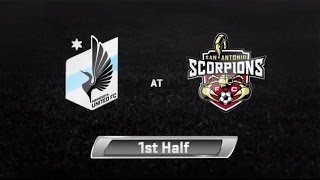 HIGHLIGHTS: Minnesota United FC vs San Antonio Scorpions | April 12th, 2014