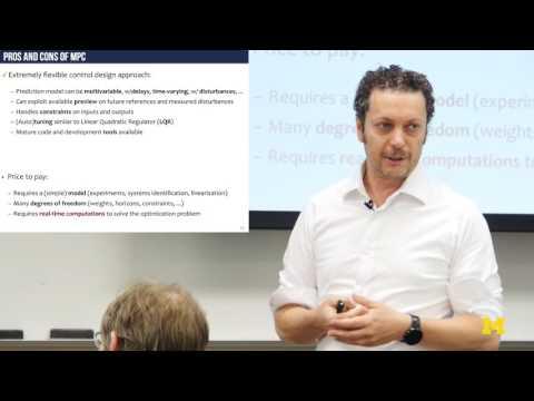 Alberto Bemporad | Embedded Model Predictive Control