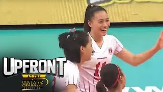 Round One of UAAP Volleyball Tournament | Trending | Upfront at the UAAP