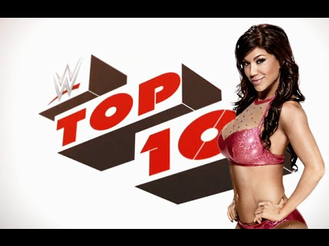 WWE Top 10- Rosa Mendes Moves