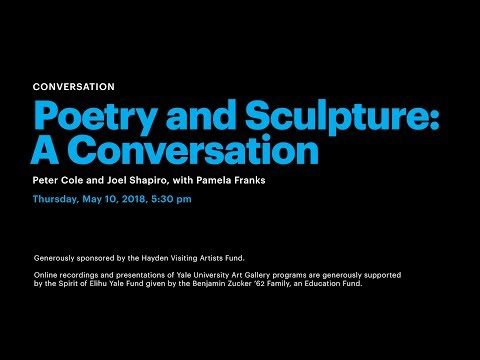 Poetry and Sculpture: A Conservation