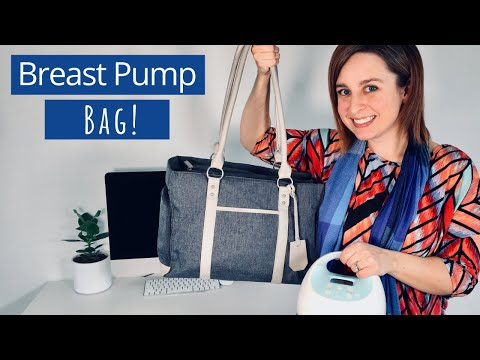 The Best Breastpump Bag What To Pack In Your Pumping Bag Breast Pump Bag For Spectra Or Medela Youtube