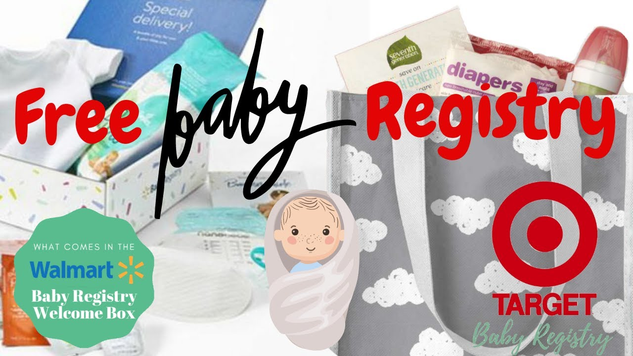 MAY 2020 WALMART & TARGET BABY REGISTRY - UNBOXING - YouTube