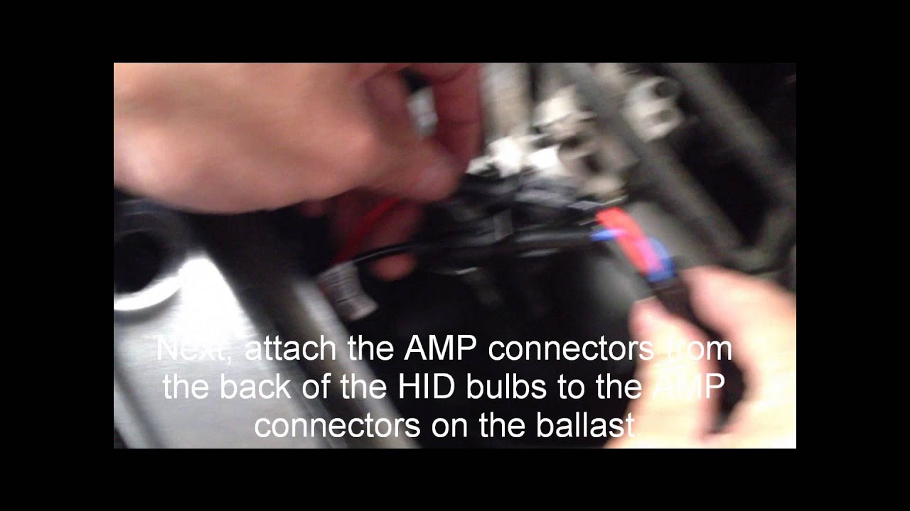 H8 H9 H11 Single Beam Hid Kit Installation Youtube Kensun Wiring Diagram