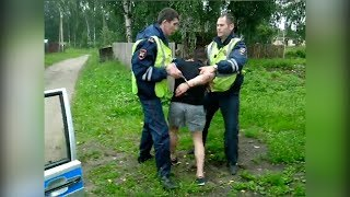 Задержание пьяного водителя в Суде