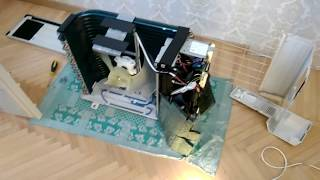 Кондиционер Sharp AE-X12TCM Внешний блок Обзор