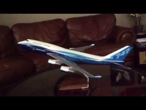 PacMin Models: 1:100 Scale Boeing 747-400 Overview & Size Comparison