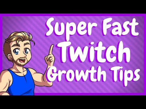 How to Grow Your Twitch Channel Fast