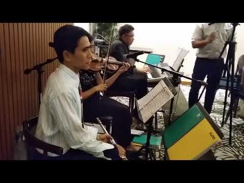 "WEDDING MUSICIANS MANILA PHILIPPINES ""Somewhere In Time"" String Quartet (Trio) Ensemble"