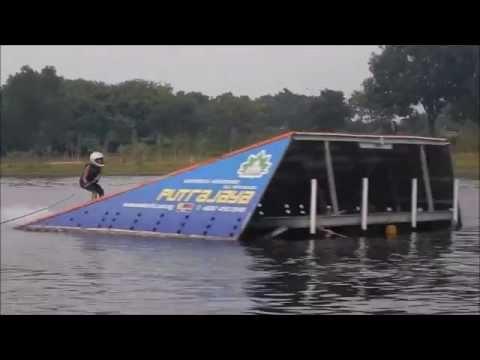 Waterski Jump: Aaliyah jumps 20.5m @ 45kph