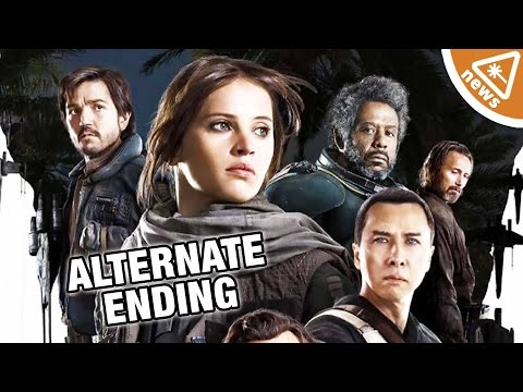 Rogue One Alternate Ending Finally Revealed! (Nerdist News w/ Jessica Chobot)