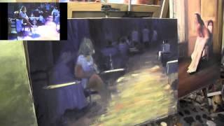 Видео урок Девушка в кафе Игорь Сахаров