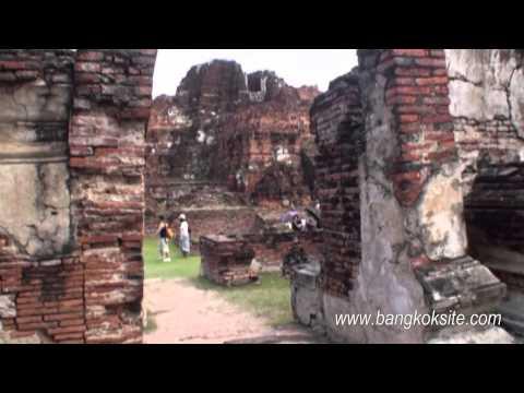 Wat Mahathat Ayutthaya - HD Video 2011