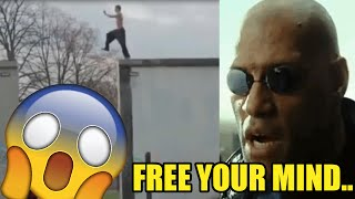 Funny Fails Compilation - Free your mind Vines - The Matrix