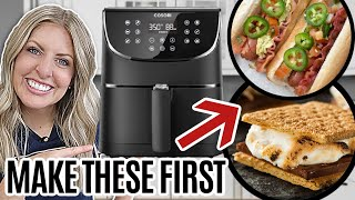 Download 6 EASY Air Fryer Recipes for Beginners - MAKE THESE FIRST!