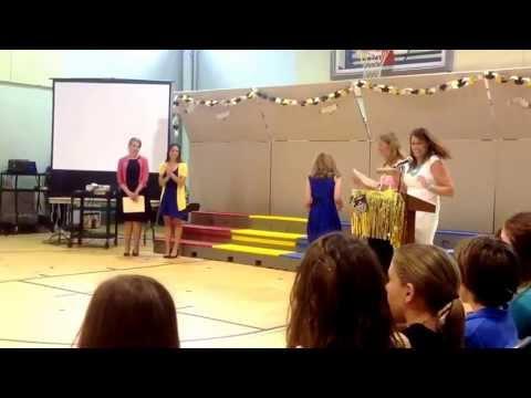 Jamestown Elementary School (Arlington, VA) graduation 2013