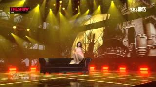 140311 Sunmi Feat  Lena   Full Moon @ SBS MTV The Show All About K pop 1080P