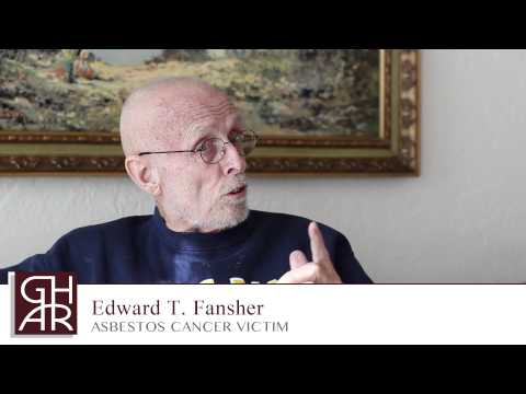 Ed Fansher - Asbestos Cancer Victim