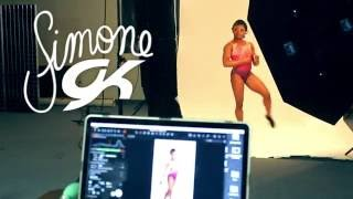Simone Biles Holiday Leotard Collection - Behind The Scenes
