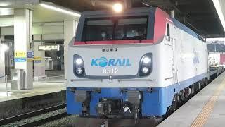 2021.05.15 코레일 동대구역 화물열차 견인 전기…