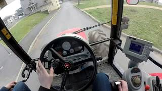 Conduite des Tracteurs au Lycée Agricole de Bonnefont ! [GoPro] MF 6455/Deutz Agrostar 6.38