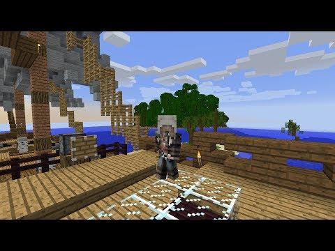 Minecraft  с установленным -
