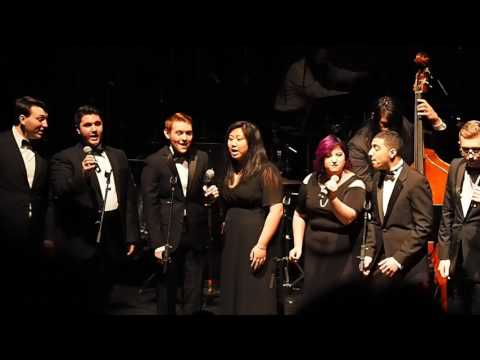 "William Paterson University Collage!!  ""Whisper Not"" - Jazz Vocal Ensemble - Arr. by Nancy Marano"