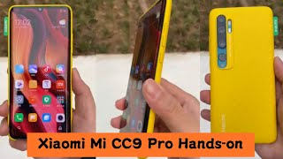 Xiaomi Mi CC9 Pro Hands-on Review l First Look, Penta Rear camera, 5,260mAh Battery, Unboxing.