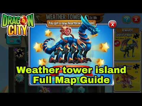 REACH THE TOP OF WEATHER TOWER IN 10 MIN Dragon city