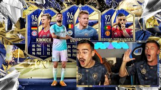 Best Of TOTY Pack Opening 😱🔥 FIFA 21 : 2000€ TOTY Mittelfeld Pack Opening