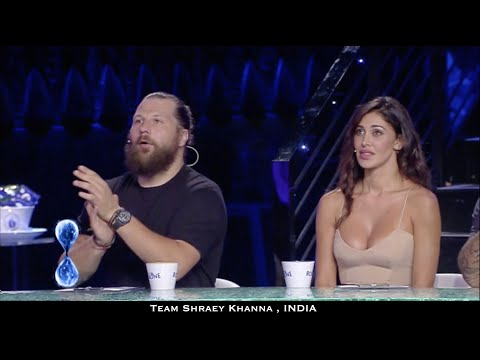 INDIAN Boys Dance Michael Jackson on TV Show | Bollywood in