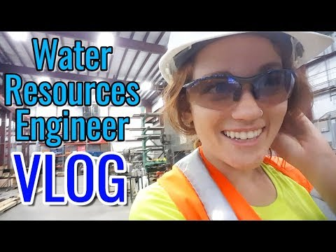 A Day in the Life of a Water Resources Engineer / Water Resources Engineering Vlog / Women in STEM