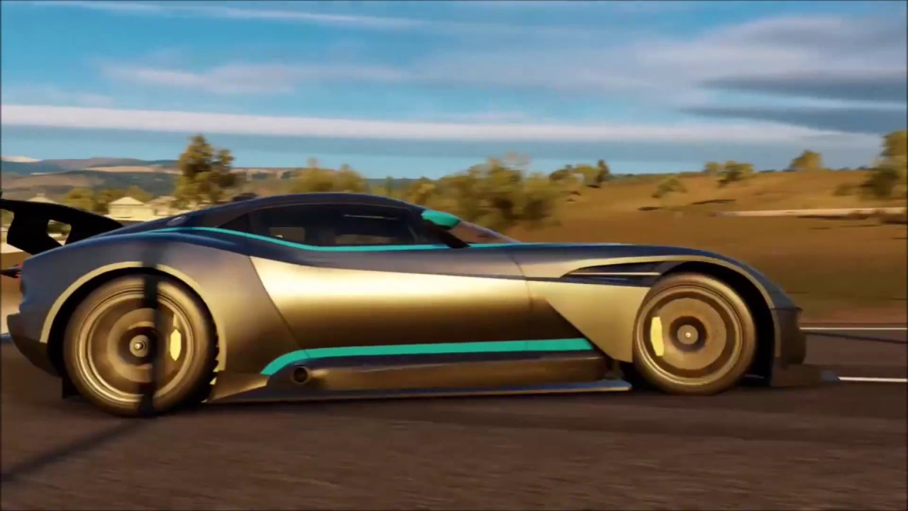 Aston Martin Vulcan Drifting Youtube