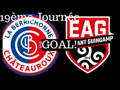 Chateauroux Guingamp Goals And Highlights