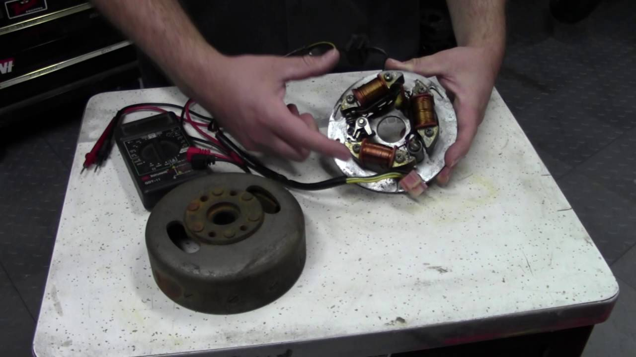 Ignition System Testing Magneto Coils Points And Cdi Youtube Yamaha Pw50 Coil Wiring