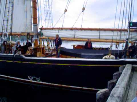Bluenose 2 returns to Lunenburg after Tall Ships Festival