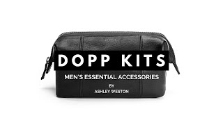 Best Men's Dopp Kit or Toiletry Bag - Men's Essential Accessories - Leather