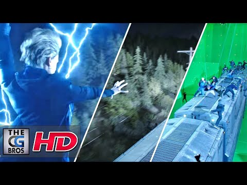"CGI & VFX Breakdowns: ""MPC X-Men Dark Phoenix Breakdown"" - by MPC Film 