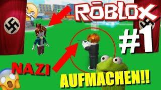 NAZIS invade ROBLOX!!!! [Roblox #1]